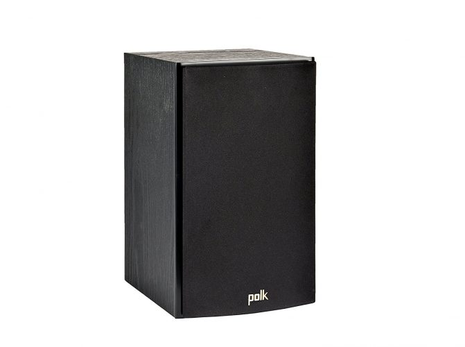 Polk Audio T15 Bookshelf Speakers, Pair, Black - Bookshelf speakers