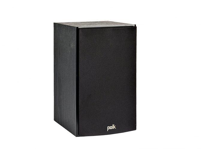 Polk Audio T15 Bookshelf Speakers, Pair, Black - Bookshelf speakers
