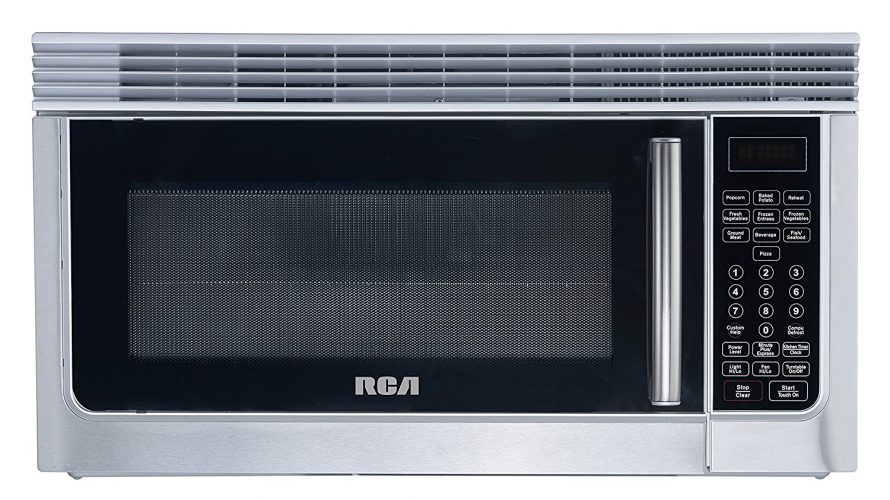 . RCA 1.6 Cubic Foot Over The Range Microwave, Stainless Steel - Over The Range Microwaves