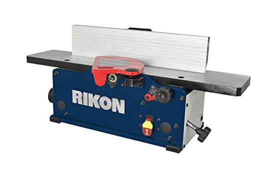 Rikon Power Tools 20-600H Benchtop Jointer with Helical Cutter Head44; 6 inch - Benchtop Jointer
