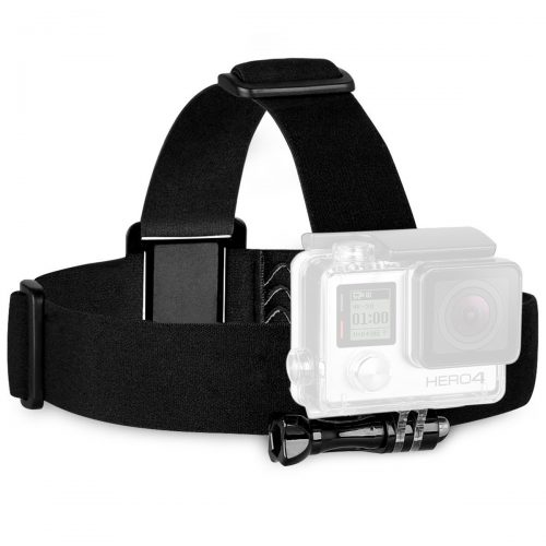 Sametop Head Strap Mount for GoPro Hero 5, 4, Session, 3+, 3, 2, 1 Cameras - Best GoPro Head Mount