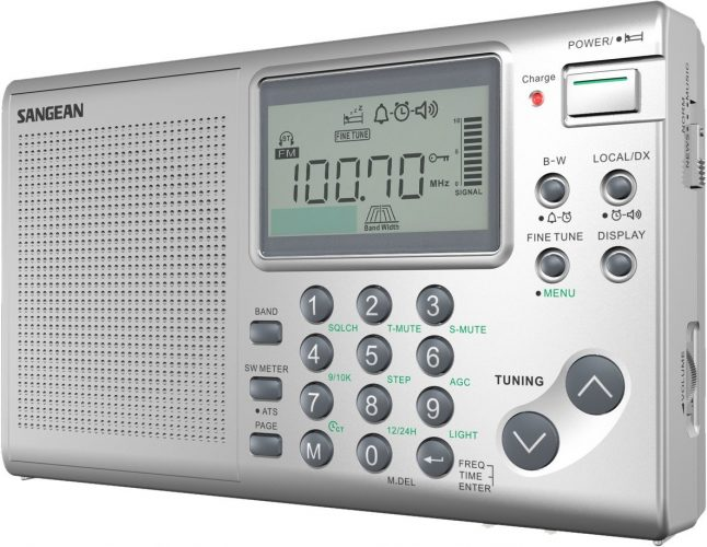 Sangean ATS-405 FM-Stereo/AM/Short Wave World Band Receiver - shortwave radios