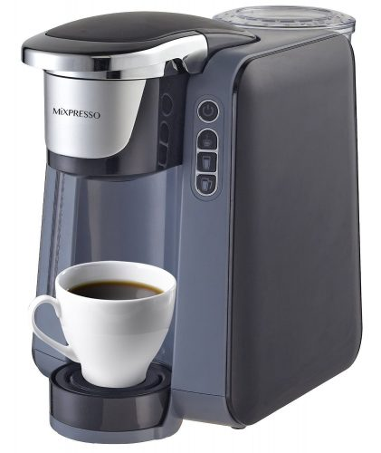 Single Cup Coffee Maker for K Cups by mixpresso - Single Cup Maker