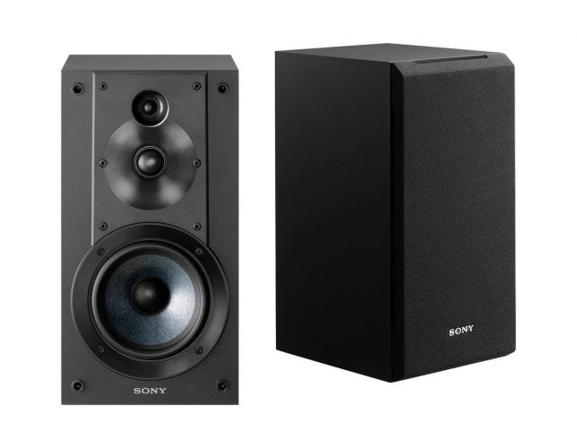 Sony SSCS5 3-Way 3-Driver Bookshelf Speaker System - Bookshelf speakers