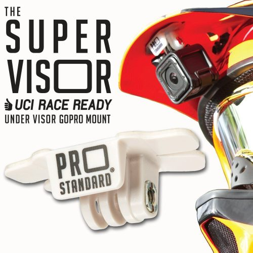 Super Visor Low Profile Under Visor Helmet Mount for GoPro Cameras - GoPro Helmet Mount