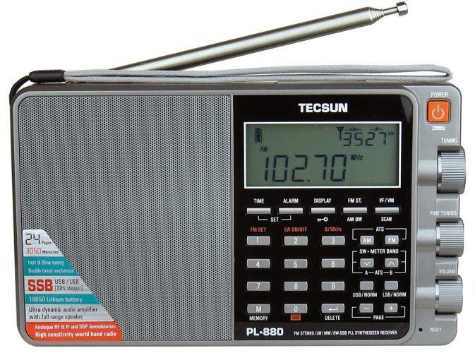 Tecsun PL880 Portable Digital PLL Dual Conversion AM/FM - shortwave radios