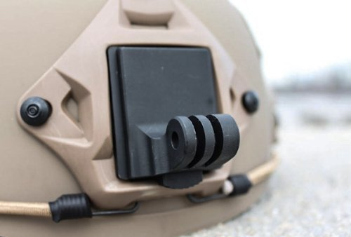 The Accessory Pro® Aluminum NVG Mount compatible with all GoPro® cameras - GoPro Helmet Mount