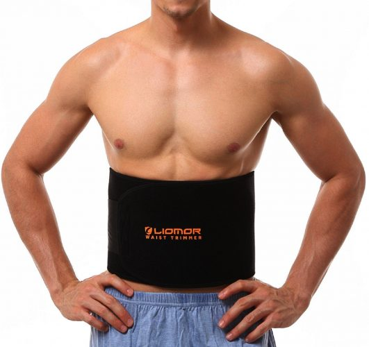 "Waist Trimmer Belt Weight Loss Belt Slimming Belt Tummy AB Belt for Women & Men - One Size, 8"" Wide x 41"" Long - Abs Belts"