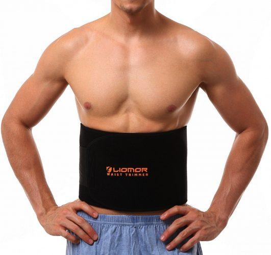 866b45cb58 Waist Trimmer Belt Weight Loss Belt Slimming Belt Tummy AB Belt for Women    Men -