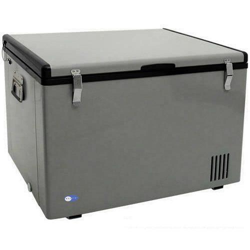 Whynter FM-65G 65-Quart Portable Refrigerator/Freezer, Platinum - Deep Freezers