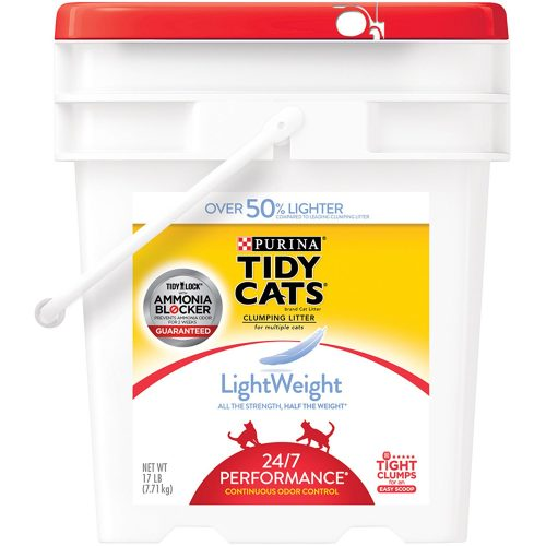 Purina Tidy Cats LightWeight Clumping Cat Litter - Clumping Cat Litter