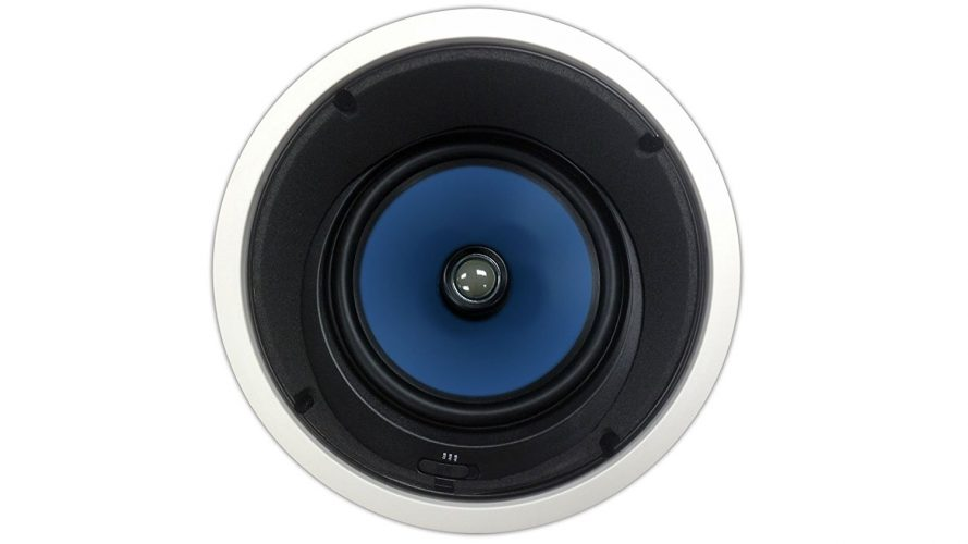 82AC Silver Ticket In-Ceiling Speaker with Pivoting Tweeter & Angled Woofer (8 Inch Angled in-ceiling) (Corded) - in-ceiling speakers
