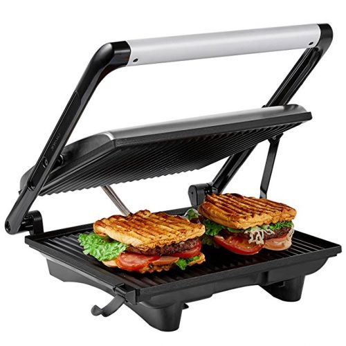 Aicok Panini Press Grill, Panini Maker, Sandwich Maker - Panini Press