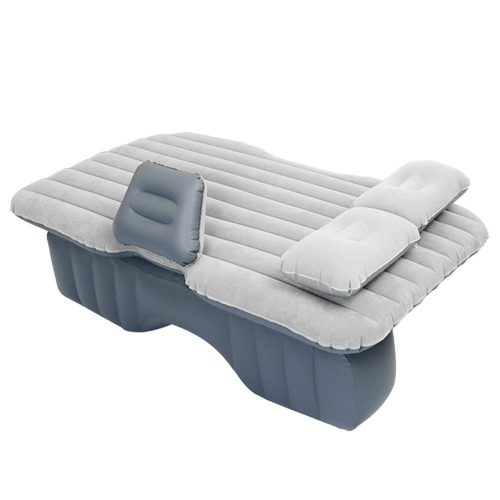 Autocastle Car Inflatable Mattress,Car Extended AirBed Back Seat Couch for Rest,Traval, Leisure and Entertainment,Equipped with Repair Pad,Glue Kits,Air Pump,Extra Mattress(Gray) - inflatable car bed