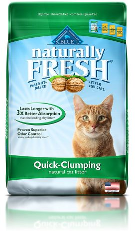Blue Buffalo Naturally Fresh Cat Litter - Clumping Cat Litter