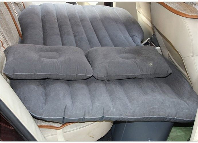 Car Cushion Air Bed Bedroom Beach Lawn Inflation Travel Thicker Mattress Back Seat Extended Mattress - inflatable car bed