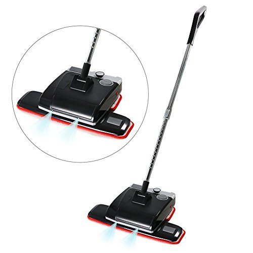 Cordless Floor Cleaner, EVERTOP Electric Wax Polisher Dry Wet Mop for Hardwood Floor, Tile, Marble, Granite - Floor polisher