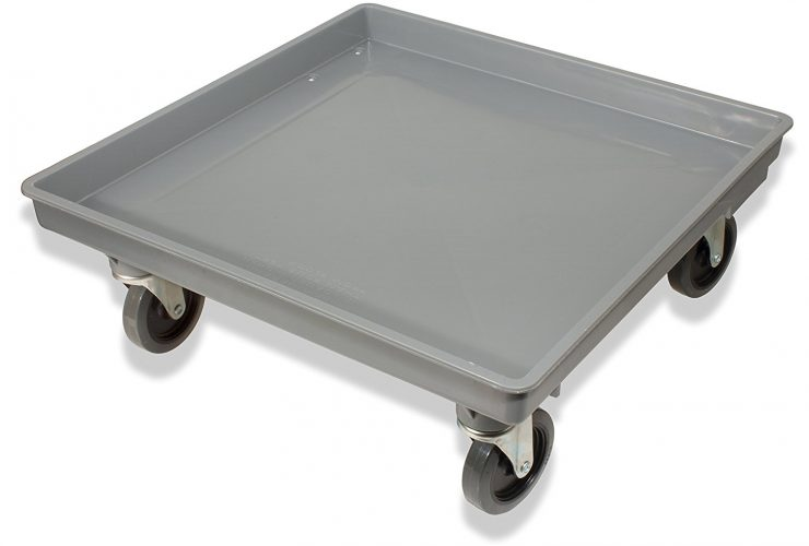 Crestware rack dolly for transporting dish racks - Dish Rack