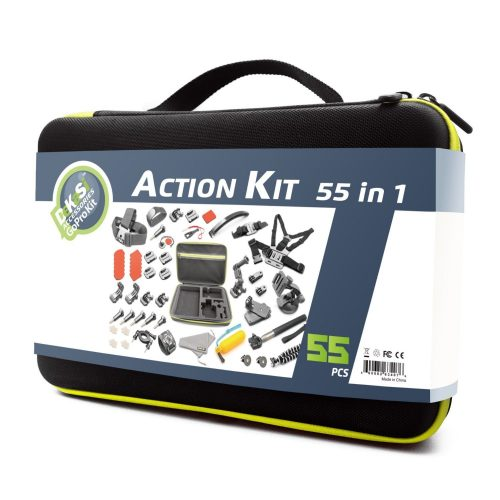 DeKaSi Accessories Kit Case for GoPro HERO 5/4/3/SJ4000/SJ5000/SJ6000 (55-IN-1) (50-100 words) - GoPro Cases