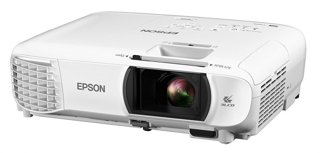 Epson Home Cinema 1060 Full HD 1080p 3,100 lumens color brightness (color light output) 3,100 lumens white brightness (white light output) 2x HDMI (1x MHL) built-in speakers 3LCD projector - Short Throw Projectors