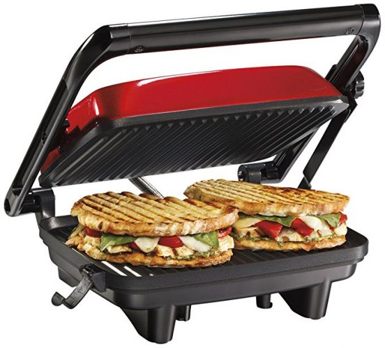 Hamilton Beach 25462Z Panini Press Gourmet Sandwich Maker - Panini Press