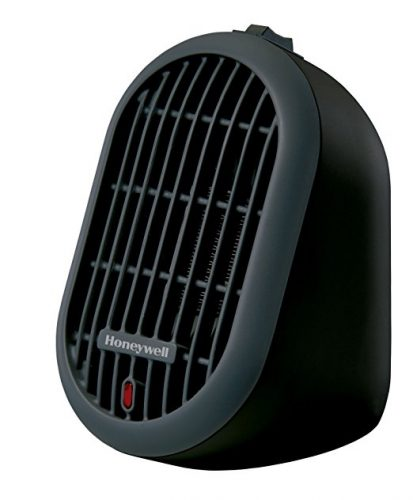 Honeywell HCE100B Heat Bud Ceramic Heater, Black - Battery Operated Heaters