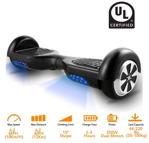 Hoverboard Electric Scooter Two-Wheel Self Balancing - Hoverboard