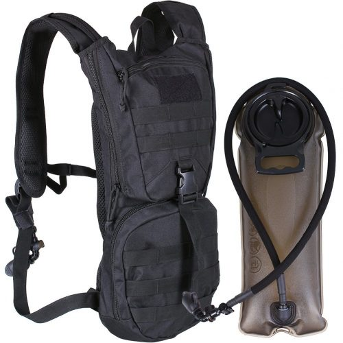 Hydration Backpack, Rabosky Tactical Pack with 2.0L BPA-Free Thermal Insulation Water Bladder – Leak Proof, Light Weight with Air Flow System – Great for Hiking, Running, Climbing, Cycling, Hunting - Hydration Pack