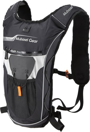Hydration Backpack with 2L BPA FREE Bladder - Keeps Liquid Cool Up to 4 Hours - Great for Outdoor Sports of Running Hiking Camping Cycling Skiing - Hydration Pack