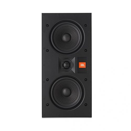 JBL Surround In-Wall Center Home Speaker, Set of 1, White (ARENA 55IW) - In-wall Speakers