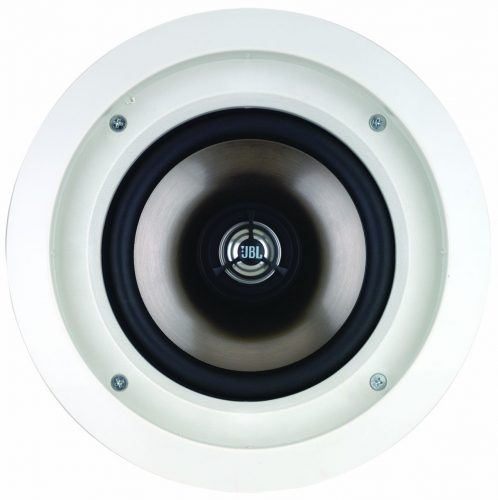 Leviton AEC65 Architectural Edition Powered by JBL 6.5-Inch In-Ceiling Speaker, White - in-ceiling speakers