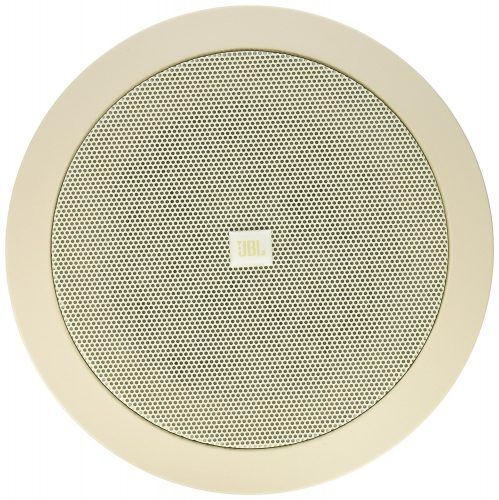 Leviton AEM65 Architectural Edition Powered by JBL, 6-1/2-Inch Two-Way In-Ceiling Loudspeaker, White - in-ceiling speakers