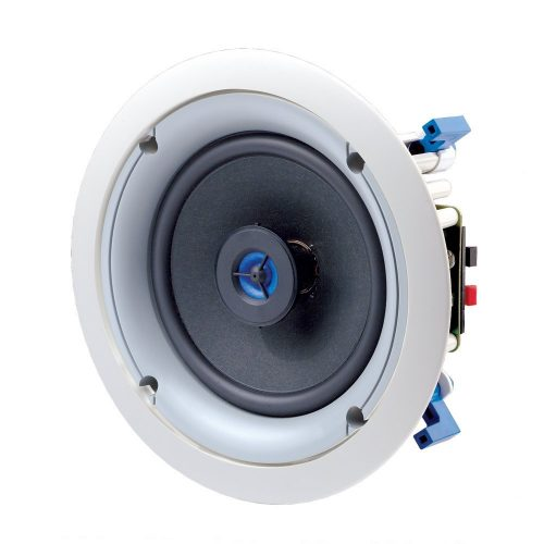 Leviton SGC65-W 6.5-Inch Two-Way In-Ceiling Loudspeaker, White - in-ceiling speakers