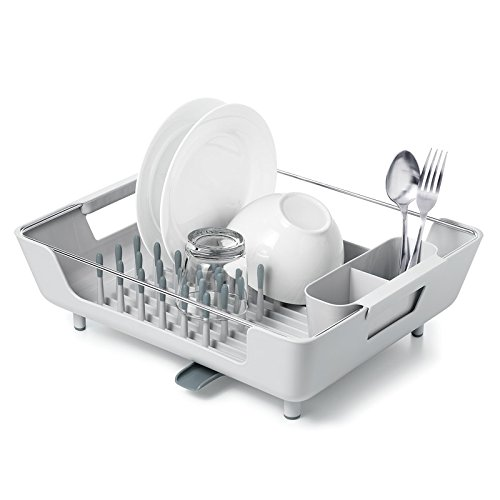 OXO good grips large peg dish rack with adjustable drain tray - Dish Rack