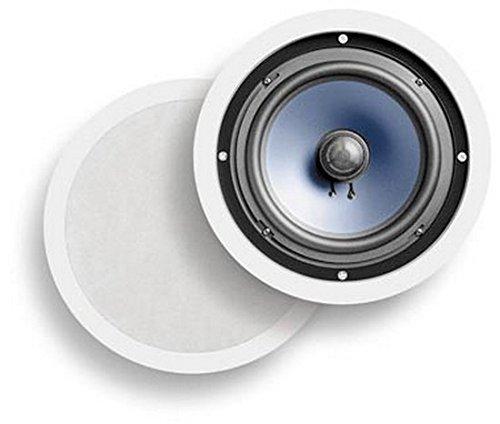Polk Audio RC80i 2-Way In-Ceiling/In-Wall Speakers (Pair, White) - in-ceiling speakers