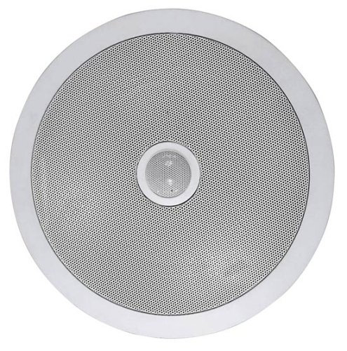 Pyle PDIC80T In-Wall Pair In-Ceiling Dual 8-inch 2-Way Speaker System White