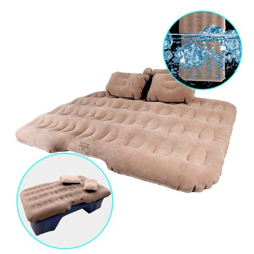 Shelterin Multifunctional Car Inflatable Mattress Travel Camping Mattress Car Air Bed Backseat - inflatable car bed
