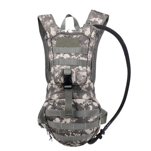Tactical Hydration Pack Backpack 900D with 2.5L Bladder for Hiking, Biking, Running, Walking and Climbing - Hydration Pack