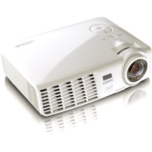 Vivitek D525ST 2600 Lumen XGA Short Throw Portable DLP Projector (White) - Short Throw Projectors
