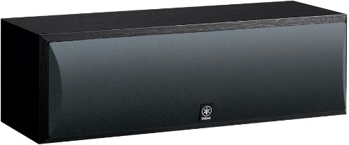 Yamaha NS-C210BL Center Channel Speaker, Black - Center Channel Speakers