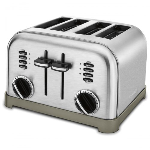 Cuisinart CPT-180 Metal Classic 4-Slice Toaster, Brushed Stainless - 4 Slice Toaster