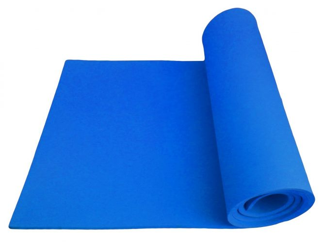 183x61x1cm 10mm Thick High-Density NBR Foaming Material Non-Toxic Latex Free PVC Free Non-slip Eco-Friendly with carrying Strap Yoga Mat Exercise Workout Fitness Gym Cushion - Gym and exercise equipment floor mat