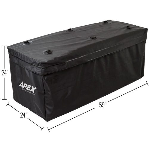 Apex RBG-04 Extra Large Waterproof Vehicle Cargo Bag - 19.6 Cubic Ft. - Best Waterproof Roof Top Cargo Bags