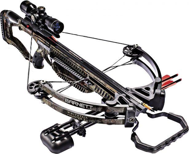 Barnett 78128 Whitetail Hunter II 350 FPS Crossbow - Crossbows under 500