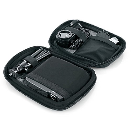 Brookstone Travel Case & Tripod for Compact 100-Lumen Pocket Projector - Projector Tripod Stands