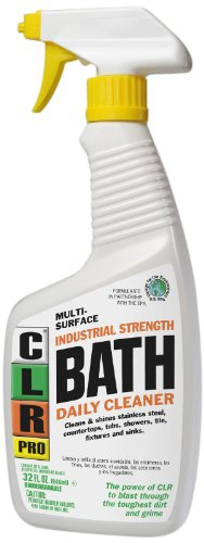 CLR PB-BATH-32PRO Multi-Purpose Daily Bath Cleaner, 32 oz Trigger Spray - Automatic Shower Cleaners