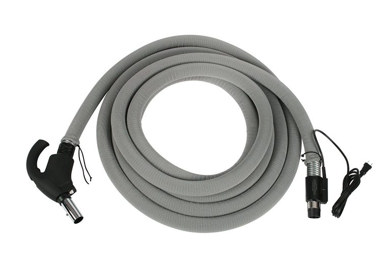 Cen-Tec Systems 90309 Central Vacuum Universal Connect Electric Hose, 30-Feet - Central Vacuum Systems