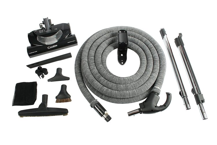 Cen-Tec Systems 92938 Central Vacuum CT20DXQD Kit with 35' DC Hose - Central Vacuum Systems