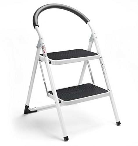 Delxo 2 Step Ladder Folding Step Stool - 2 Step Ladders