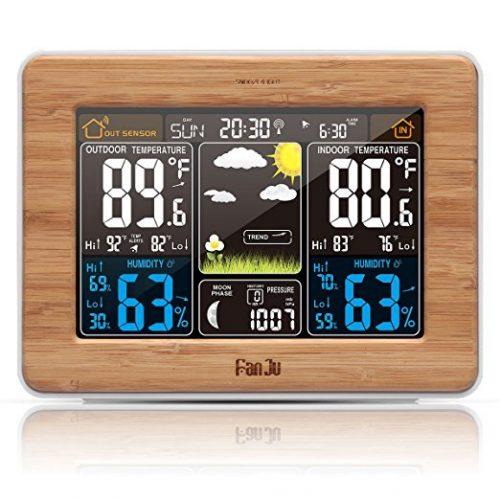 FanJu FJ3365 Wireless Weather Station - Weather Thermometers